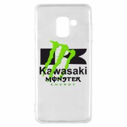 Чохол для Samsung A8 2018 Kawasaki Monster Energy