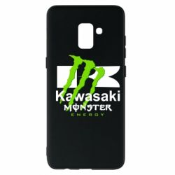 Чохол для Samsung A8+ 2018 Kawasaki Monster Energy