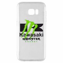 Чехол для Samsung S7 EDGE Kawasaki Monster Energy