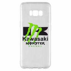 Чехол для Samsung S8+ Kawasaki Monster Energy