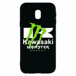 Чохол для Samsung J3 2017 Kawasaki Monster Energy