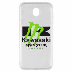 Чохол для Samsung J7 2017 Kawasaki Monster Energy