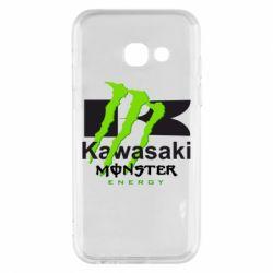 Чохол для Samsung A3 2017 Kawasaki Monster Energy
