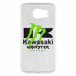 Чехол для Samsung S6 Kawasaki Monster Energy