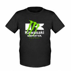 Детская футболка Kawasaki Monster Energy - FatLine