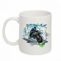 Кружка 320ml Kawasaki Ninja Art
