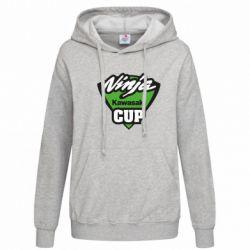 Женская толстовка Kawasaki Ninja Cup - FatLine
