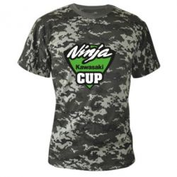 Камуфляжна футболка Kawasaki Ninja Cup