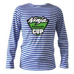 Тельняшка с длинным рукавом Kawasaki Ninja Cup - FatLine