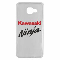 Чехол для Samsung A7 2016 Kawasaki Ninja