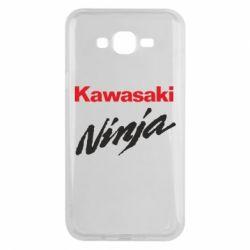 Чехол для Samsung J7 2015 Kawasaki Ninja