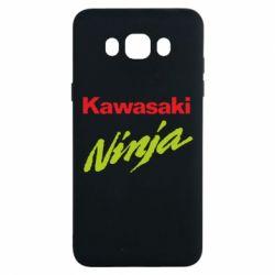 Чехол для Samsung J7 2016 Kawasaki Ninja