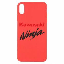 Чехол для iPhone Xs Max Kawasaki Ninja