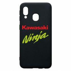 Чехол для Samsung A40 Kawasaki Ninja