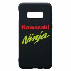 Чехол для Samsung S10e Kawasaki Ninja
