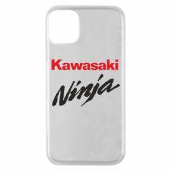 Чехол для iPhone 11 Pro Kawasaki Ninja
