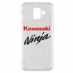 Чехол для Samsung A6 2018 Kawasaki Ninja