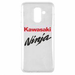 Чехол для Samsung A6+ 2018 Kawasaki Ninja