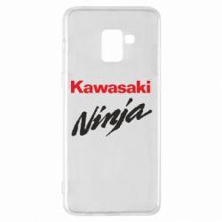 Чехол для Samsung A8+ 2018 Kawasaki Ninja