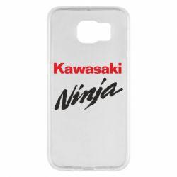 Чехол для Samsung S6 Kawasaki Ninja