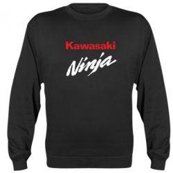 Реглан (свитшот) Kawasaki Ninja - FatLine