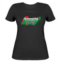 Женская футболка Kawasaki Racing - FatLine