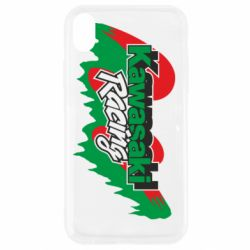 Чехол для iPhone XR Kawasaki Racing