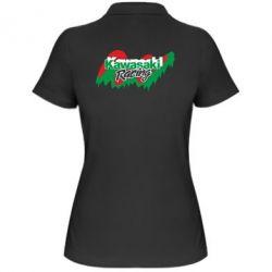 Женская футболка поло Kawasaki Racing