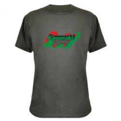 Камуфляжная футболка Kawasaki Racing - FatLine