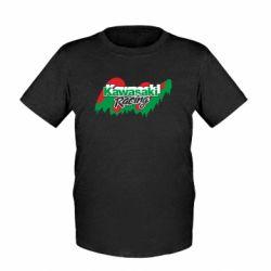 Детская футболка Kawasaki Racing