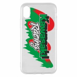 Чехол для iPhone X/Xs Kawasaki Racing