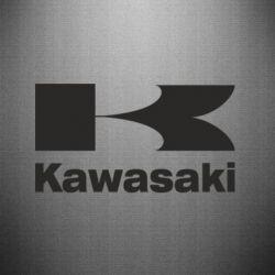 Наклейка Kawasaki - FatLine
