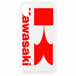 Чехол для iPhone XR Kawasaki