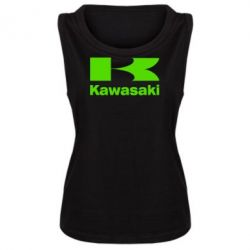 Женская майка Kawasaki - FatLine