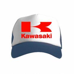 Детская кепка-тракер Kawasaki