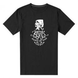 Чоловіча стрейчева футболка Козак журби не знає