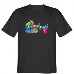 Мужская футболка Казаки и пушка
