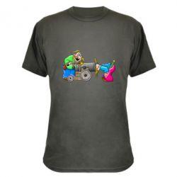 Камуфляжная футболка Казаки и пушка