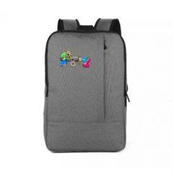 Рюкзак для ноутбука Казаки и пушка