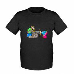 Детская футболка Казаки и пушка