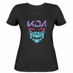 Жіноча футболка KDA