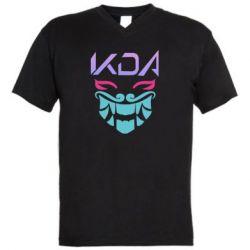 Чоловіча футболка з V-подібним вирізом KDA