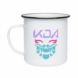 Кружка емальована KDA