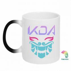 Кружка-хамелеон KDA