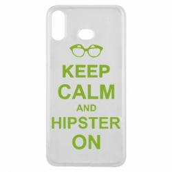 Чехол для Samsung A6s Keep calm an hipster on
