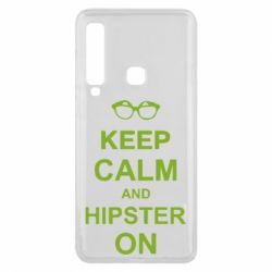Чехол для Samsung A9 2018 Keep calm an hipster on