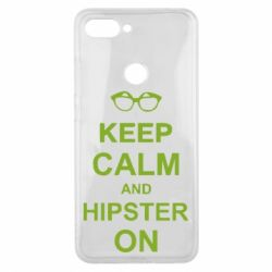 Чехол для Xiaomi Mi8 Lite Keep calm an hipster on