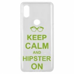 Чехол для Xiaomi Mi Mix 3 Keep calm an hipster on