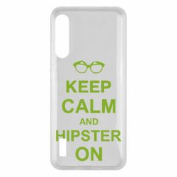 Чохол для Xiaomi Mi A3 Keep calm an hipster on