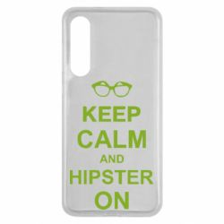 Чехол для Xiaomi Mi9 SE Keep calm an hipster on